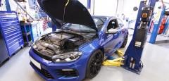 Sirocco R with Volkswagen Racing Suspension Upgrade